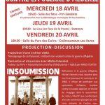 Mémoire d'action non-violente contre la guerre d'Algérie