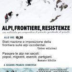 Conférence-débat : Alpi, frontiere, resistenza (Alpes, frontière, résistance)