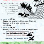 La solidarité ne s'arrête pas! Solidarité avec Eleonora, Théo et Bastien