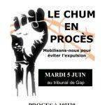 Le CHUM en procès : Rdv mardi 5 juin