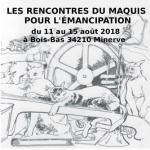 Les rencontres du Maquis pour l'émancipation du 11-15 août