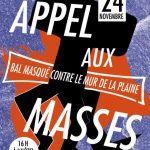 Marseille : Manif de masse(s). Bal masqué contre le Mur de la Plaine.
