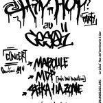 Concert hip-hop au Césaï Samedi 2 mars 19h Gap