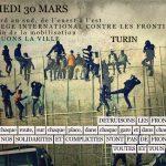 [MàJ du 12/03/2019] Brochure sur l'opération étincelle et Manifestation contre les frontièresle 30 Mars à Turin