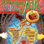 22 juin à la Roche de Rame - Grand appel d'air en soutien aux exilés, maraudeurs, coupables de solidarité…