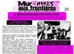 """Journal """"Mur-mures aux frontières"""" du mois de Juin"""