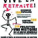 SOIRÉE DE SOUTIENT CONTRE LA RÉFORME DES RETRAITES organisé par les G-J de Saillans
