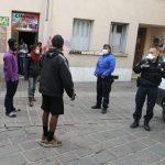 Revus d'actu notamment sur la situation des exilées dans les Hautes Alpes.